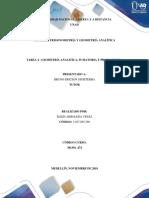 Tarea 4 - geometría analitica, sumatoria y productoria