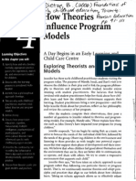 How Theories Influence Program Models