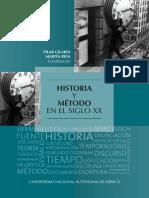 Pilar Gilardi Gonzalez - Historia y metodo en el siglo xx
