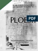 Ploesti Operations Report (1944)