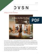 Dvsn Release