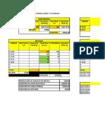 100 HOJA DE CÁLCULO DE PRODUCCIONES Y EFICIENCIAS(1)