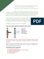 Valvulas reguladoras de presión