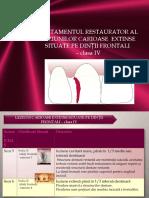 LP VIII- Restaurare Cl IV