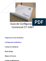 Configuracion Comtrend CT-5367