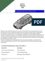 VOLVO V70 2001 User Manual