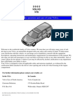 VOLVO V70 2002 User Manual
