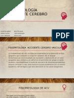 Fisiopatología ACV