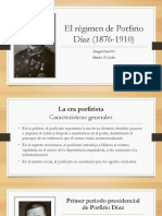 El régimen de Porfirio Díaz (1876-1910)