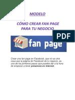 4.5 Crear FanPage para tu Negocio