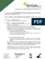 Pasos para la implementación de las NIIF en SCi
