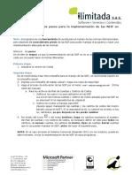 Pasos para la implementación de las NIIF en Contai