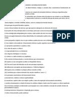 Lista  Renascimento e Reforma 2019