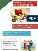 TRASTORNO PSICOTICO POR SUSTANCIAS Y MEDICAMENTOS ok