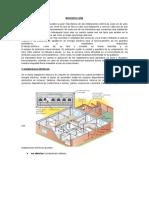 informe instalaciones electricas