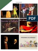 personajes del teatro