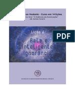 Lição 6 - Bela e Inteligente Ignorância - A Essência da Iluminação - James Swartz