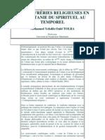 Les Confreries Religieuses en Mauritanie Du Spirituel Au Temporel