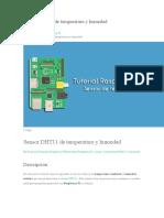 Sensor DHT11 de temperatura y humedad