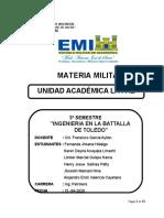 INGENIERIA EN LA BATALLA DE TOLEDO