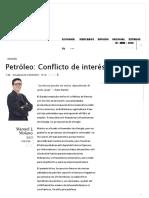 Petróleo - Conflicto de interés.docx
