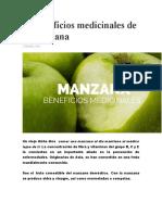 10 beneficios medicinales de la manzana y otros mas.docx
