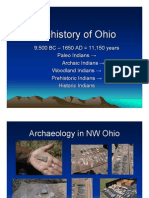 Prehistory of Ohio 2010 2