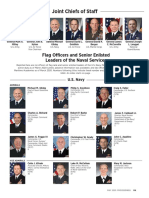 Joint Chiefs of Staff / Flag Officers and Senior Enlisted Leaders of the U.S. Navy