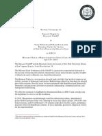 Missouri NAACP and Brennan Center Testimony on SJR 38
