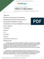 Hegemonia Politica Y Liberadora - Ensayos y Trabajos - renegio