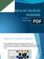 Gerencia de talento humano Sandra Piza