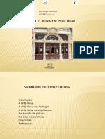 A Arte Nova em Portugal