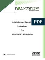 Absolyte GP I&O Manual