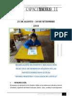 PLAN DE CAPACITACION II.EE. 2do modulo