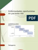 Enfermedades oportunistas en paciente HIV
