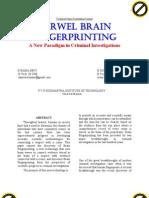 Farewell Brain Fingerprinting