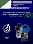 Gemo-003 Guia de Evaluacion Por Expo Sic Ion a Ruido
