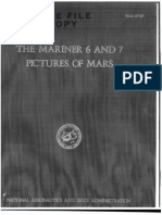 The Mariner 6 and 7 Pictures of Mars
