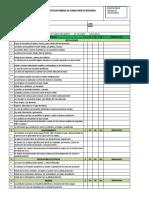FORMATO  INSPECCION CONDICIONES GENERALES DE SEGURIDAD