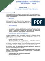 PROCEDIMIENTO PARA LIMPIEZA Y DESINFECCION EN LA EMRPESA
