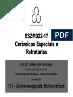 Eletrocerâmicas-1 Dielétricos