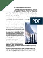 Cambio climático 2. Informe Stern