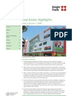 Real Estate Highlights 2008 Q1