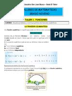 Talleres de matematicas