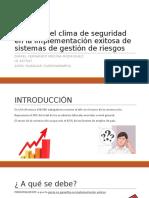 Clima de seguridad en sistema de prevención de riesgos.pptx