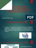 TÉCNICAS FORMATIVAS TÉCNICAS DE FORMACIÓN Y SU APORTE.pptx