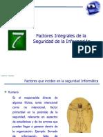 7 factores integrales