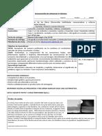 Formato de evaluación refuerzo 4º