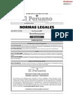 EL PERUANO EDICION EXTRAORDINARIA 2 DE ABRIL 2020