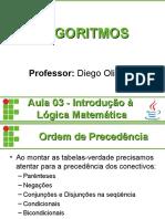 ALG 03 - Logica Matematica2